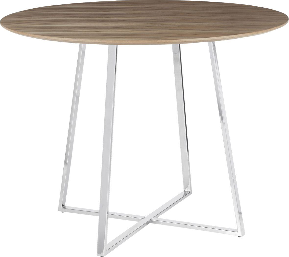 Ovalla Chrome Dining Table