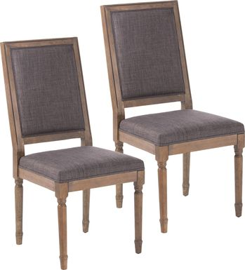 Overwood Gray Dining Chair, Set of 2