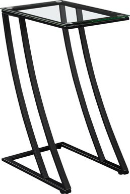 Oxaus Black End Table