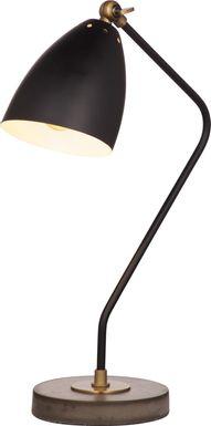 Oxberry Lane Brass Lamp