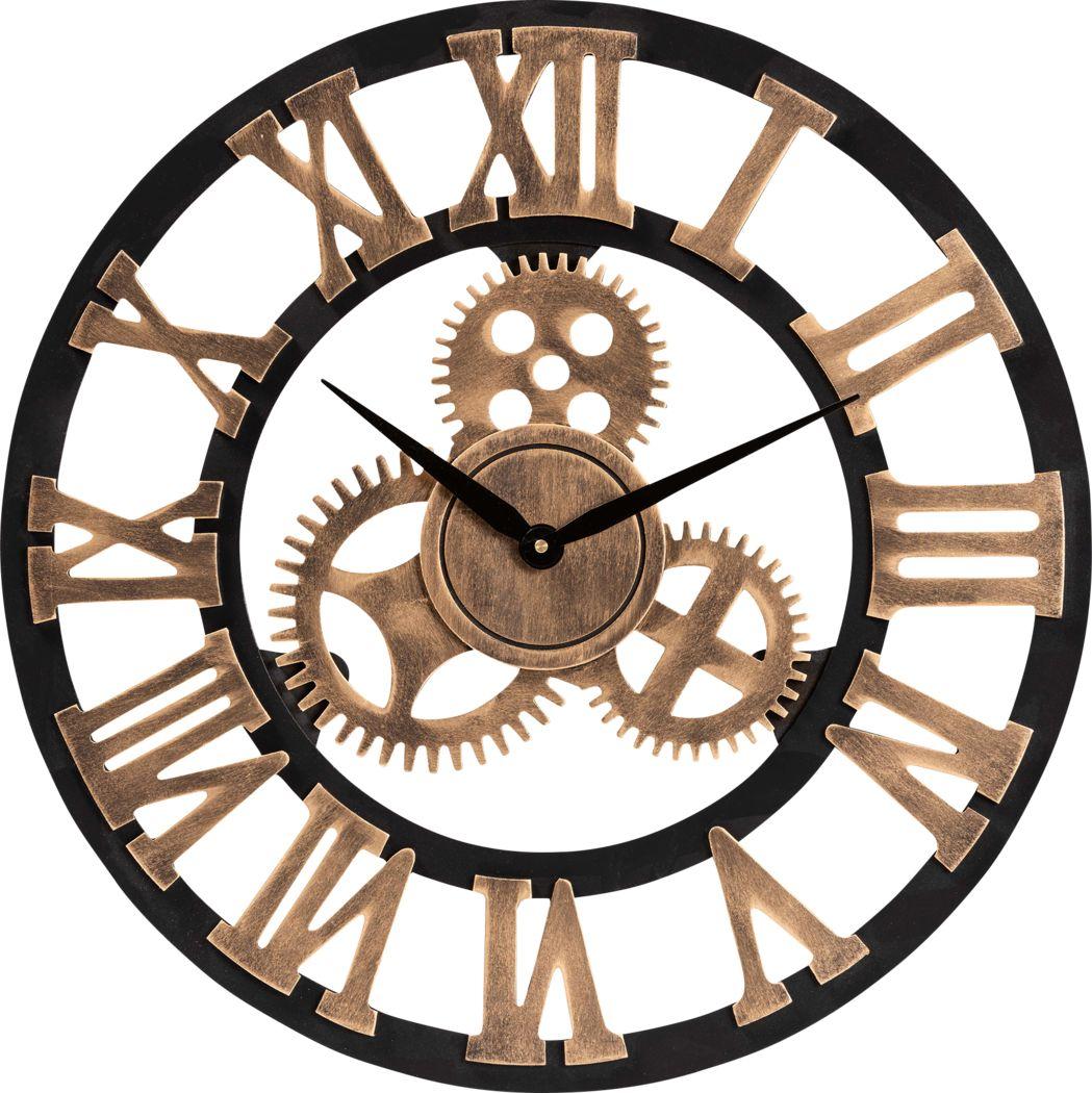 Oyer Black Wall Clock