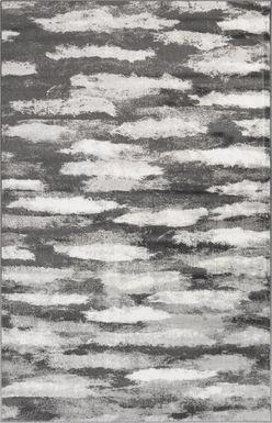 Paden Gray 4'10 x 7'6 Rug
