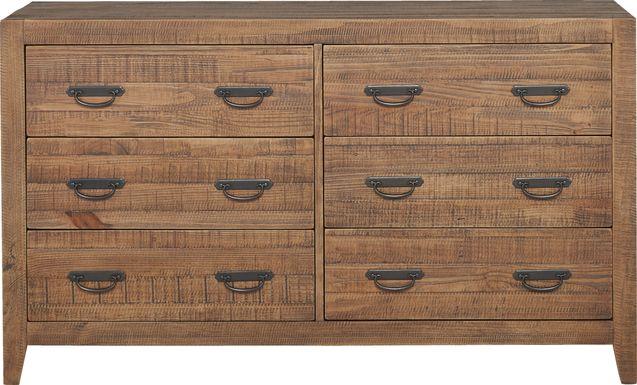 Palm Grove Brown Dresser