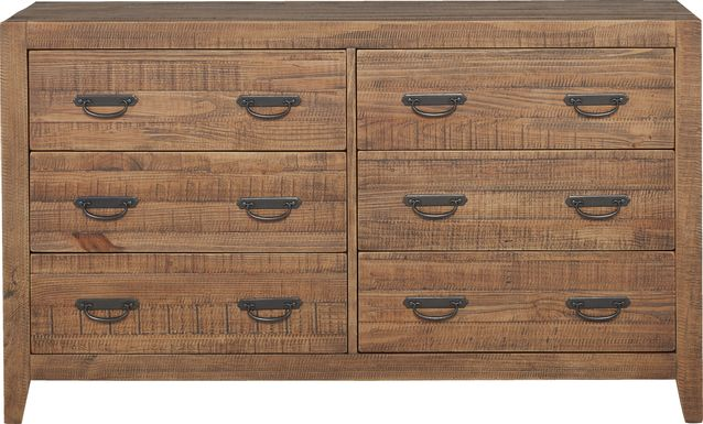 Palm Grove Brown Dresser