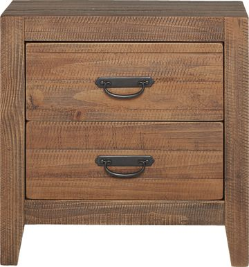 Palm Grove Brown Nightstand