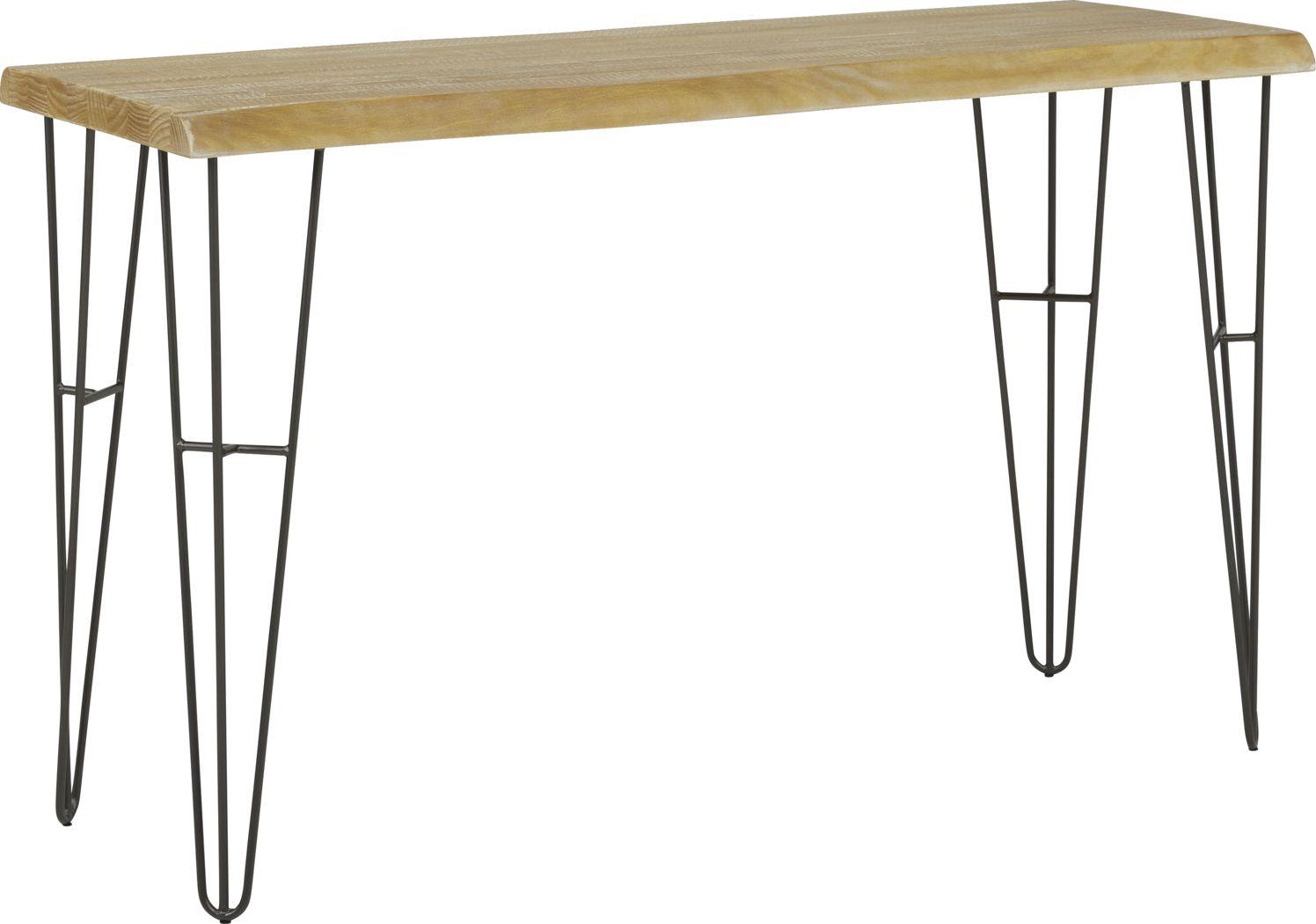 Palm Grove Brown Sofa Table