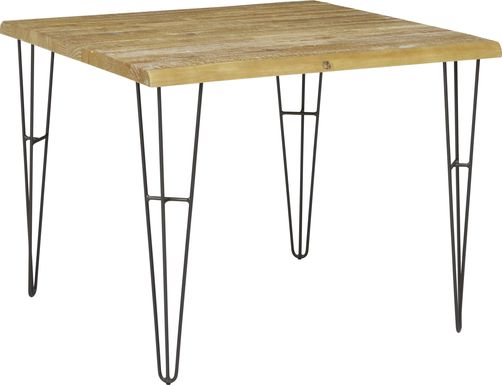 Palm Grove Brown Square Dining Table