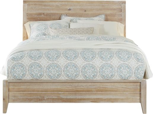 Palm Grove Toffee 3 Pc King Panel Bed