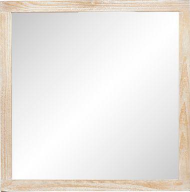 Palm Grove Toffee Mirror