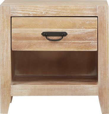 Palm Grove Toffee Open Nightstand