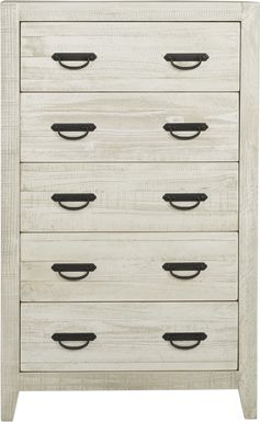 Palm Grove White Chest