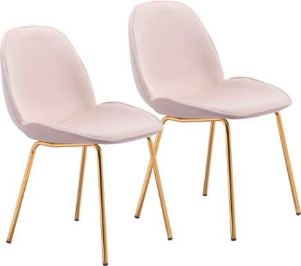Palou Pink Side Chair, Set of 2