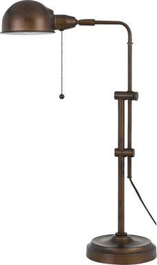 Panamint Rust Lamp