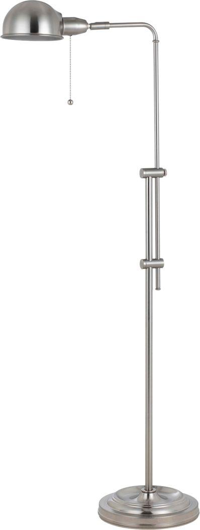 Panamint Silver Floor Lamp