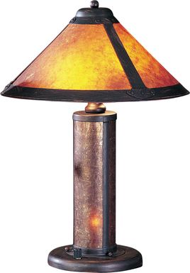 Panorama Way Rust Lamp