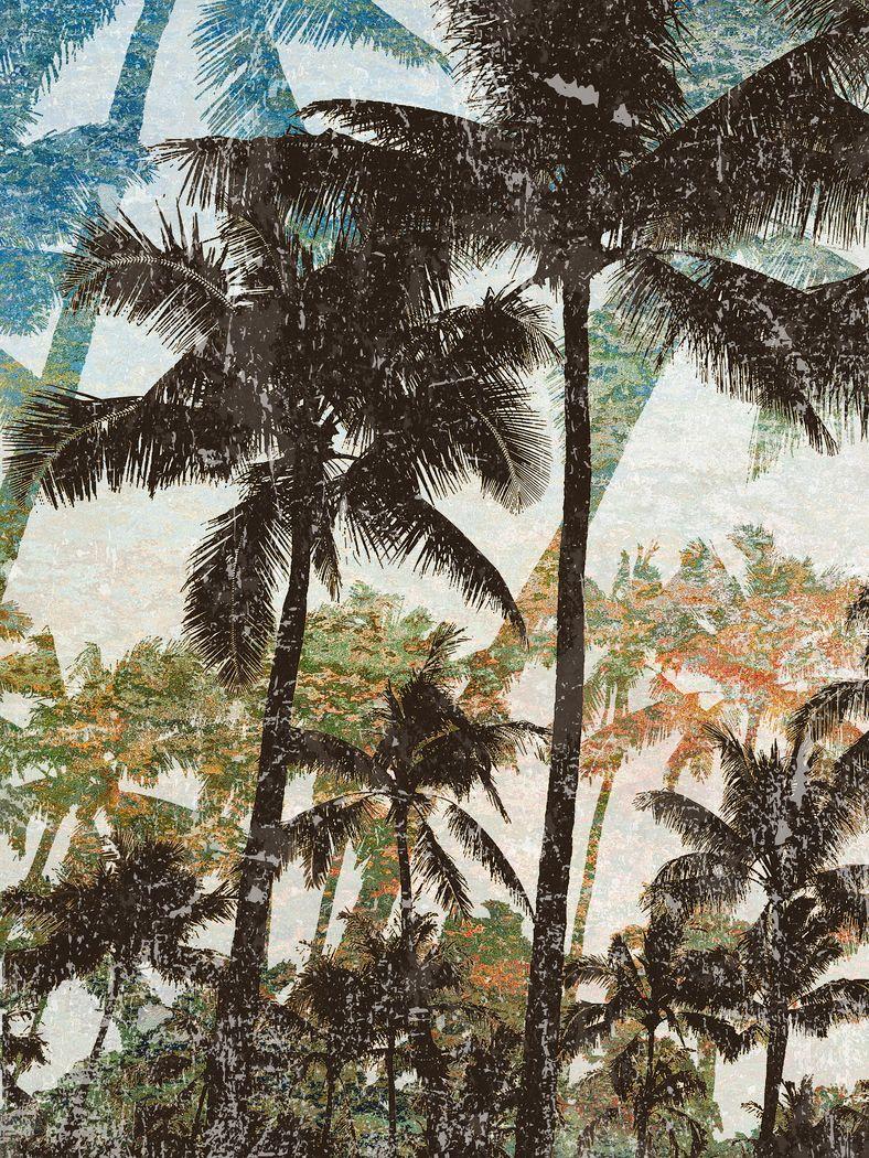 Paradise Dream II Blue Artwork