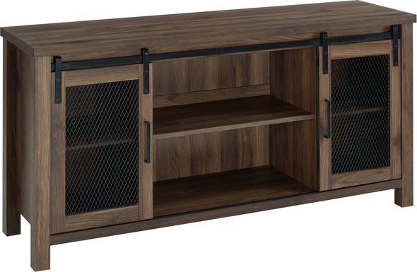 Parazine Walnut 58 in. Console