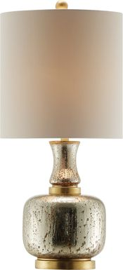 Park Post Gold Lamp