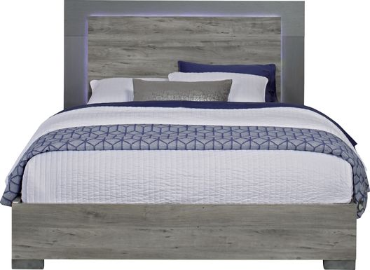 Park Slope Gray 3 Pc King Panel Bed