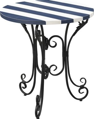 Parkoaks Blue Accent Table