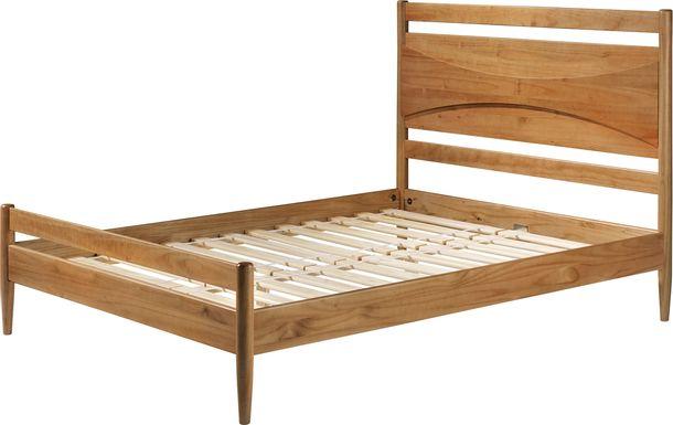 Pateman Caramel Queen Bed