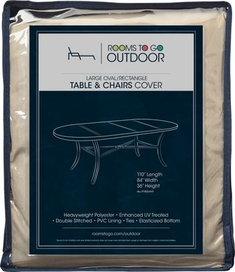 Patio 110 in. Dining Set Cover