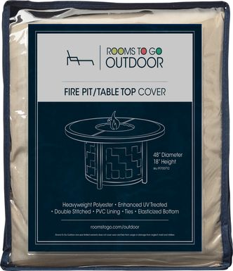 Patio 48 in. Fire Pit Cover
