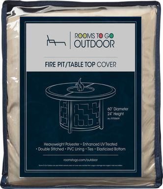 Patio 60 in. Fire Pit Cover