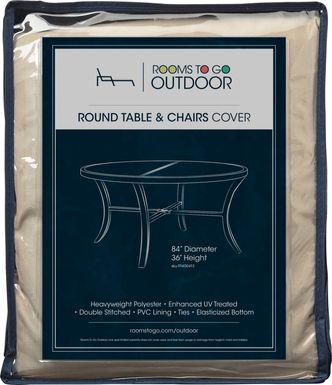 Patio Round Dining Set Cover
