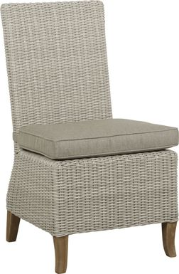 Patmos Gray Outdoor Side Chair