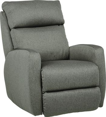Pecos Graphite Triple Power Recliner