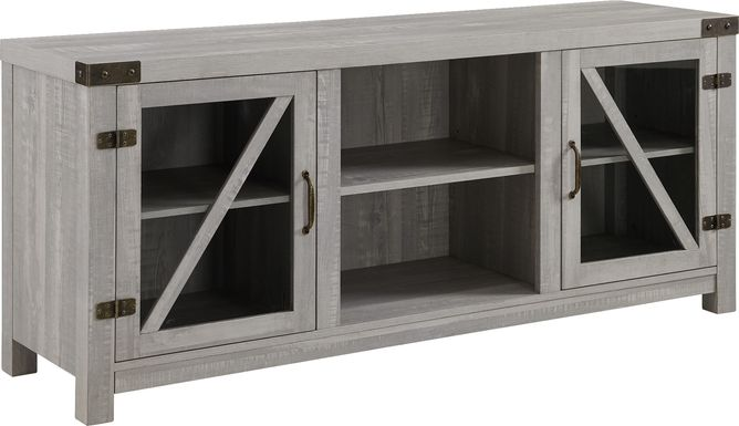 Penifield Gray 58 in. Console