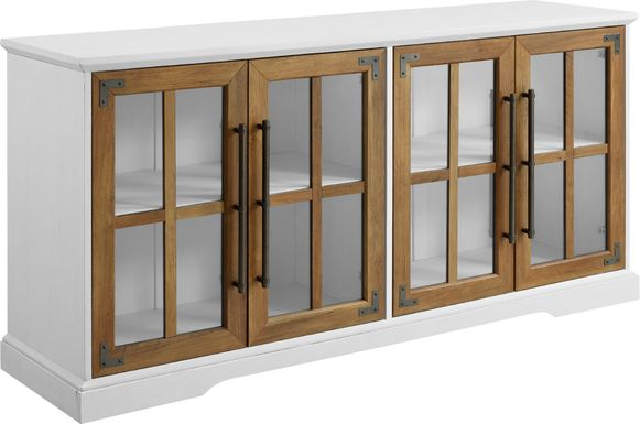 Penlucy White 58 in. Console