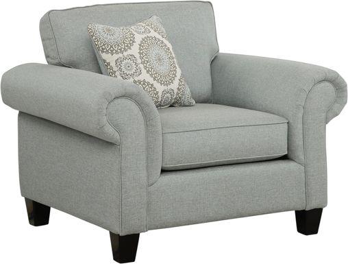 Pennington Blue Chair