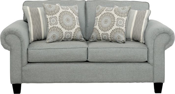Pennington Blue Loveseat