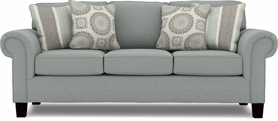 Pennington Blue Sofa