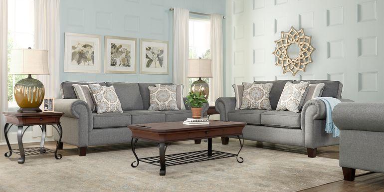 Pennington Gray 5 Pc Living Room