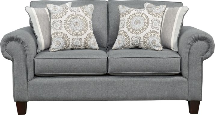 Pennington Gray Loveseat
