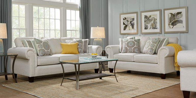 Pennington Sand 7 Pc Living Room