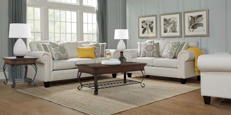 Pennington Sand 7 Pc Living Room