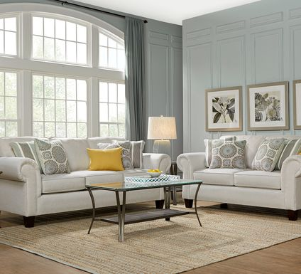 Pennington Sand 8 Pc Living Room