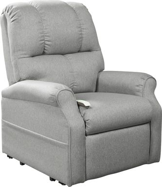 Pentonshire Gray Lift Chair Dual Power Recliner