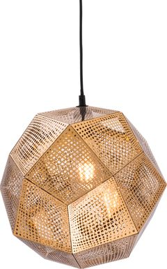Peralta Gold Chandelier