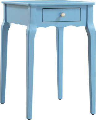 Percel Blue Accent Table