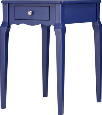 Percel Navy Accent Table