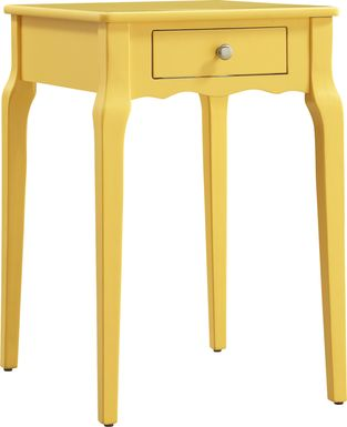 Percel Yellow Accent Table