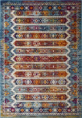 Pesal Red 5' x 7' Rug