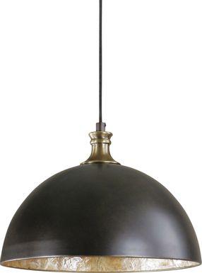 Peugot Bronze Chandelier