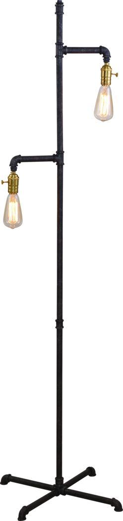 Pickton Gray Floor Lamp