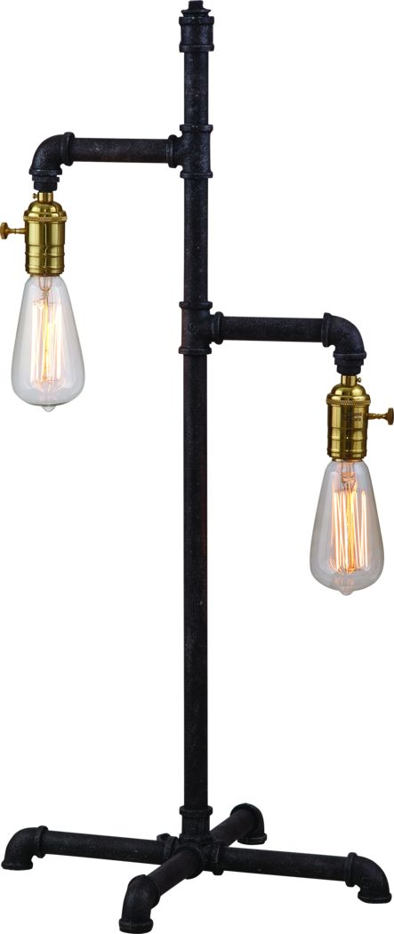 Pickton Gray Lamp